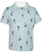 name it Polo-Shirt Kurzarm NMMVOLO sterling blue 13173879