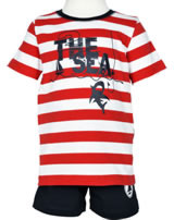 name it Set T-Shirt Kurzarm + Shorts NMMZELARS high risk red 13147552