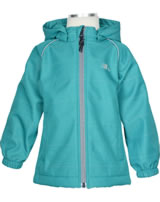 name it Softshell-Jacke m. Kapuze NMMALFA MELANGE lake blue 13148714