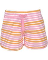name it Sweat-SHORTS NMFVAMAJA bright white stripes cadmium yellow 13161685
