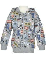 name it Sweatjacke m. Kapuze NMMERLAND grey melange 13151355