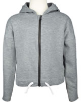 name it Sweatjacke mit Kapuze NKFTINA  grey melange 13163734