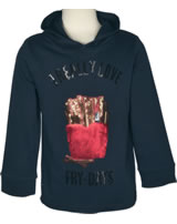 name it Sweatshirt m. Kapuze Hoodie NKFNIVI dark sapphire 13157699