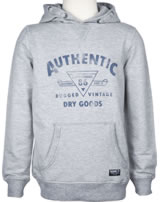 name it Sweatshirt m. Kapuze Hoodie NKMBAGUN grey melange 13158681