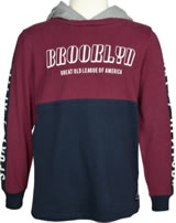name it Sweatshirt m. Kapuze Hoodie NKMRASMUS ruby wine 13158638
