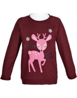 name it Sweatshirt NMFVENUS HIRSCH cabernet 13160068