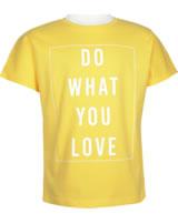 name it T-Shirt Kurzarm NKFVALISSA aspen gold 13173820