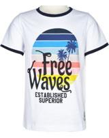 name it T-Shirt Kurzarm NKMDMTUR bright white 13177280
