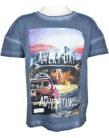name it T-Shirt Kurzarm NKMKENN vintage indigo 13152408