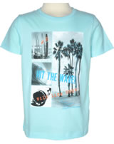 name it T-Shirt Kurzarm NKMZEN tanager turquoise 13147794