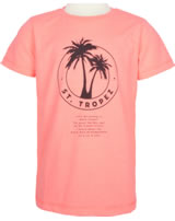 name it T-Shirt Kurzarm NKMZONK neon coral 13174976