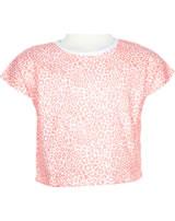 name it T-Shirt Kurzarm NMFVILMA bright white leo 13173607