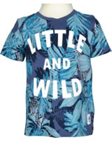 name it T-Shirt Kurzarm NMMGAJUNGLE vintage indigo 13153547