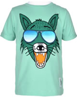 name it T-Shirt Kurzarm NMMHUFFA mit Sonnenbrillen-Patchies ocean wave 13165868