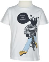 name it T-Shirt Kurzarm NMMVICTOR Bär bright white 13152283