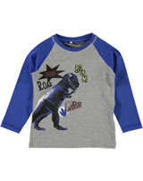 name it T-Shirt Langarm Raglan NITETTUS Dino grey melange 13145886