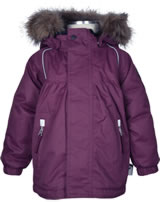 name it Wetterfeste Jacke m. Kapuze NITPOWDER Mini prune purple 13137971