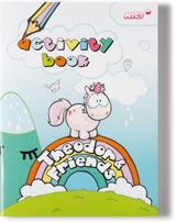 Nici Activity Book Einhorn Theodor Regenbogen