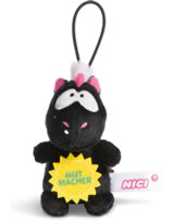 Nici Einhorn Carbon Flash Mutmacher 8 cm mit Loop Message to go