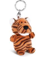 Nici LED-Schlüssellicht Plüsch Tiger Jerome