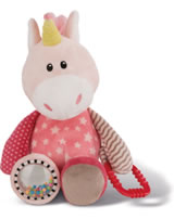 Nici My First Nici activity plush Unicorn Stupsi