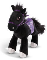 Nici Horse Black Cassis 35 cm standing Soulmates Mystery Hearts