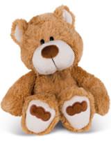 Nici peluche ours Grand frère 20 cm balancant brun claire