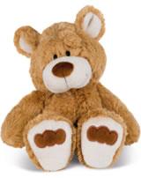 Nici peluche ours Grand frère 25 cm balancant brun claire