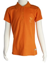 Nici Damen Poloshirt Kurzarm Tiger orange 26824