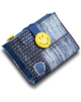 Nici Portmonee Smiley Jeans-Optik