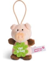 Nici Schwein Viel Erfolg 8 cm mit Loop Message to go