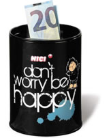 Nici Spardose Schaf Jolly - Don´t worry be happy