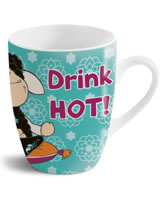 Nici Tasse Jolly Yoga Drink Hot! Stay Cool!