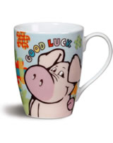 Nici Tasse Schwein Good Luck Allover