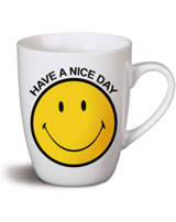 Nici Tasse Smiley gelb Have a nice day
