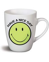 Nici Tasse Smiley grün Have a nice day