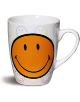 Nici Tasse Smiley Allover orange