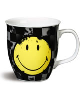 Nici Tasse Smiley gelb/grau