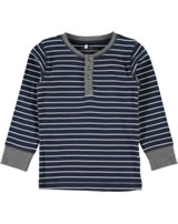 name it T-Shirt Langarm NITVARDA  Mini Streifen dress blues 13147854