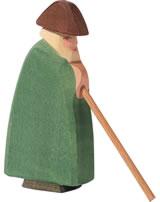 Ostheimer Schäfer mit Stab