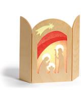 Ostheimer Transparentbild  Christi Geburt