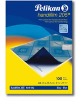 Pelikan Handifilm für Handdurchschriften A4/10Blatt blau
