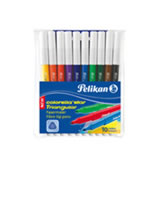 Pelikan 10 Fasermaler fein Colorella Star Triangular C303