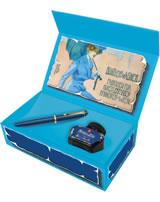 Pelikan Füllhalter Classic M120 Iconic Blue im Geschenkset