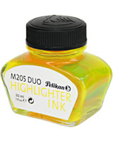 Pelikan M205 DUO Textmarkertinte 30ml gelb