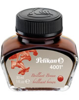 Pelikan Tinte 4001 30ml brillant-braun