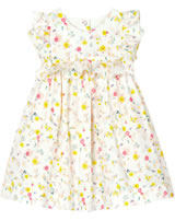 Petit Bateau Dress short sleeve marshmallow/multicolor 52958-01