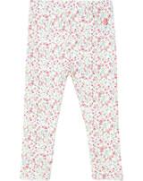 Petit Bateau Leggings for girls marshmallow/multicolor 53417-03