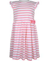 Petit Bateau Dress short sleeve marshmallow/cupcake 55077-01