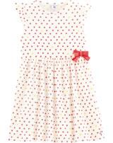 Petit Bateau Dress short sleeve marshmallow/multicolor 53499-02